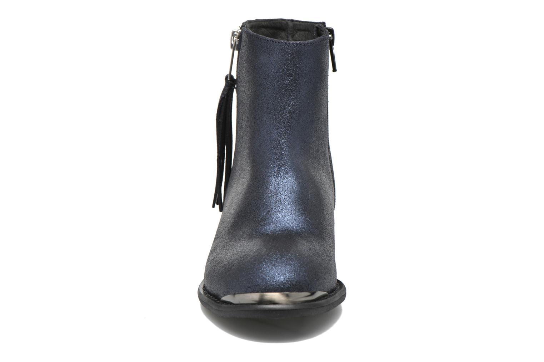 Bottines et boots Yep Amelia Bleu vue portées chaussures