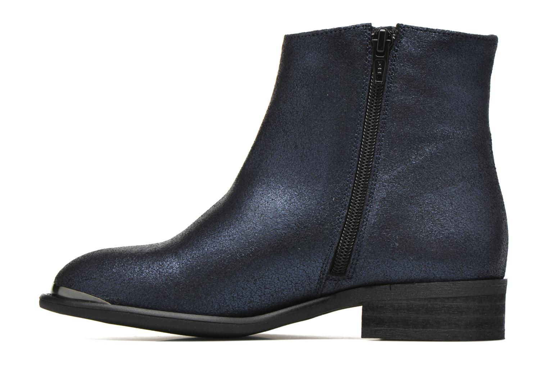 Bottines et boots Yep Amelia Bleu vue face