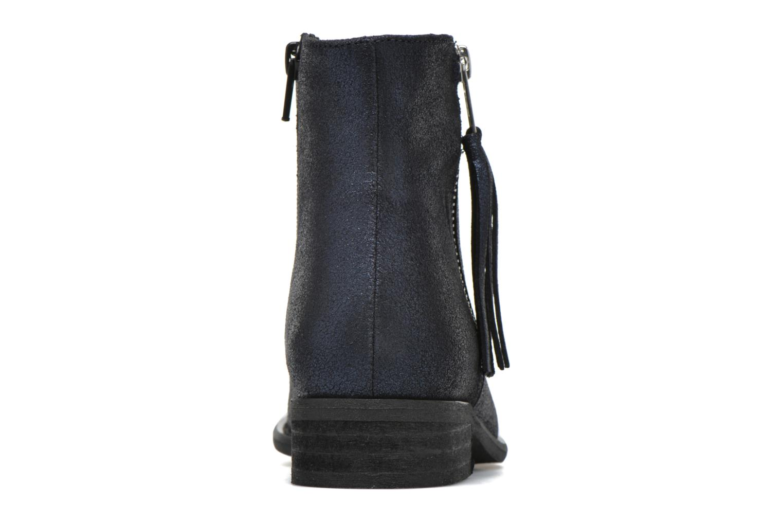Bottines et boots Yep Amelia Bleu vue droite