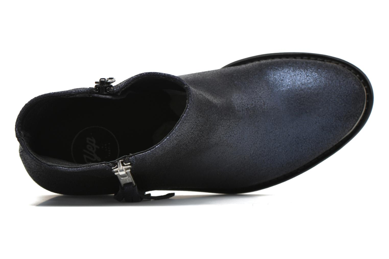 Bottines et boots Yep Amelia Bleu vue gauche