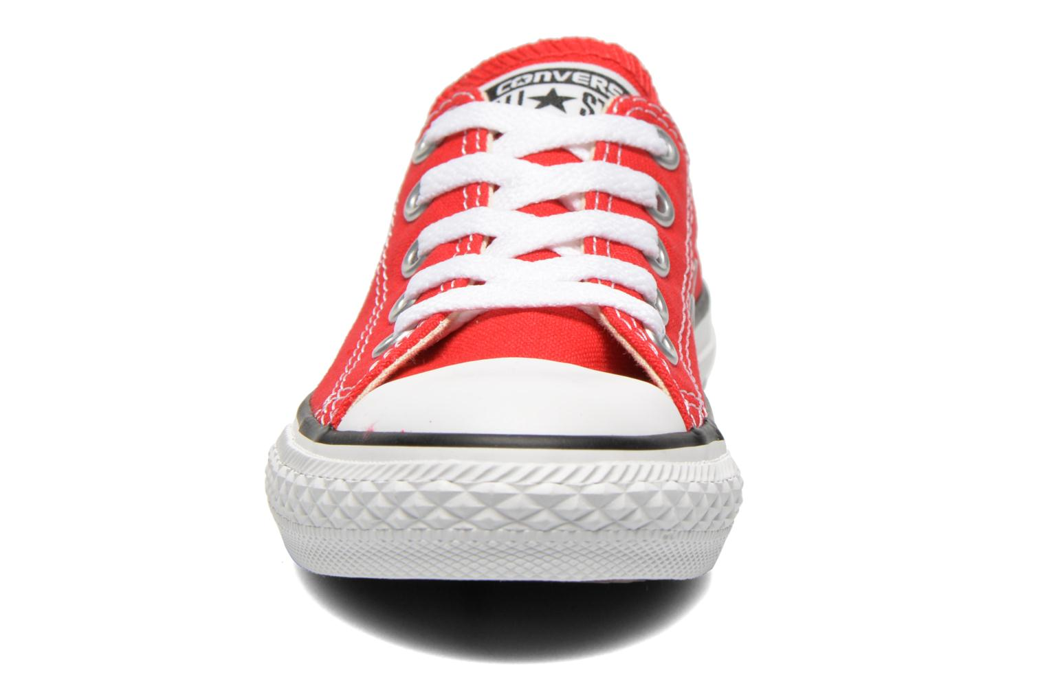 Trainers Converse Chuck Taylor All Star Core Ox Red model view