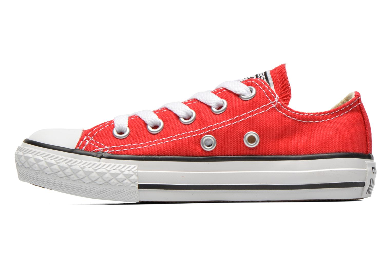 Sneakers Converse Chuck Taylor All Star Core Ox Rød se forfra