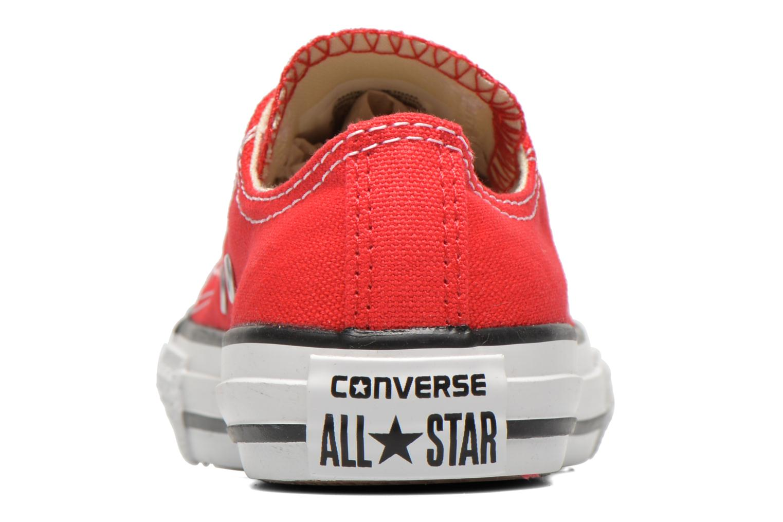 Deportivas Converse Chuck Taylor All Star Core Ox Rojo vista lateral derecha