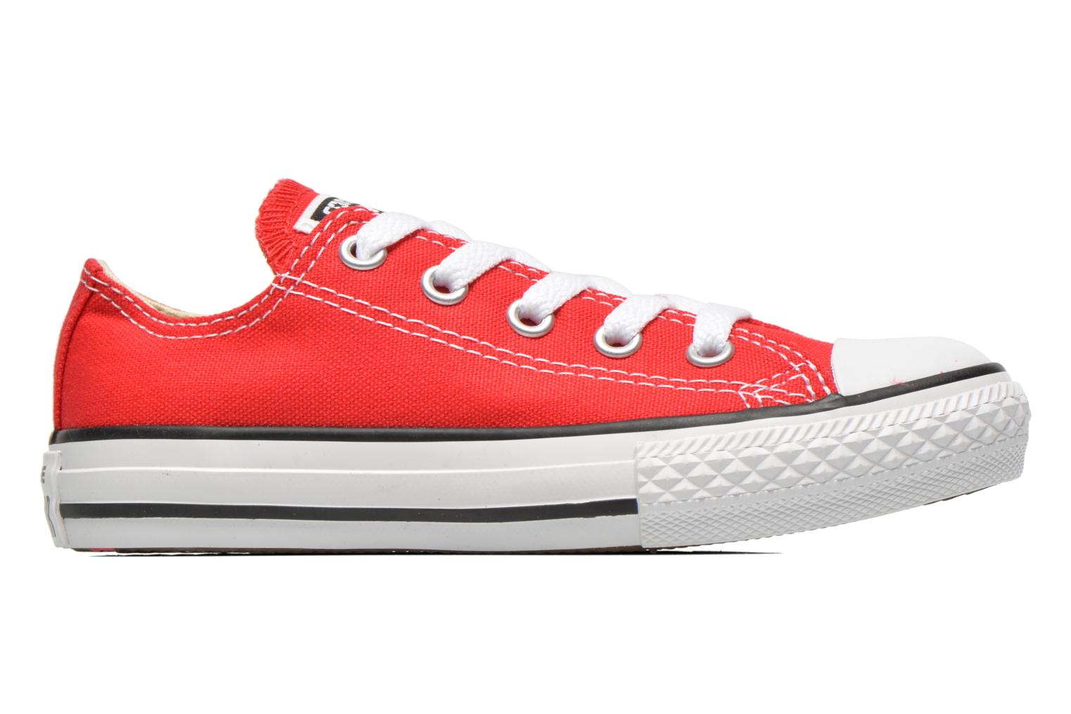 Sneakers Converse Chuck Taylor All Star Core Ox Rød se bagfra