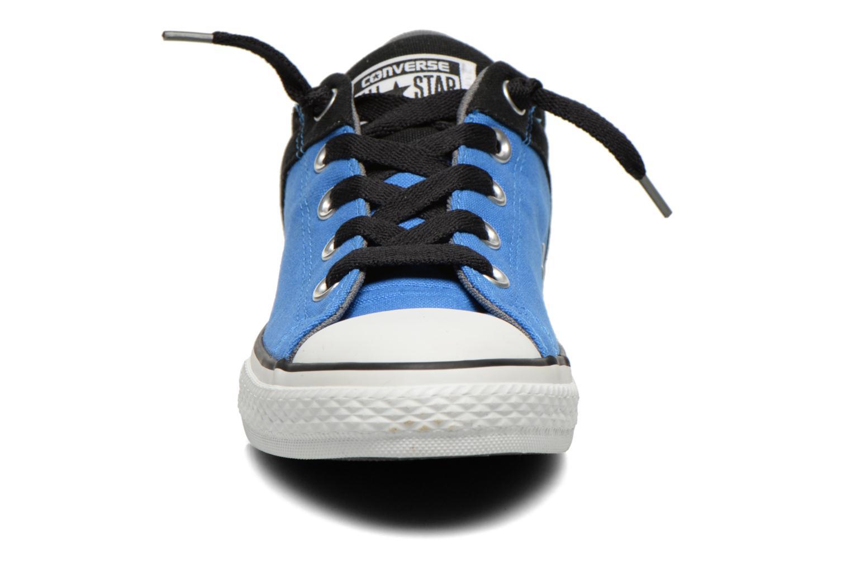 Deportivas Converse Chuck Taylor High Street Azul vista del modelo