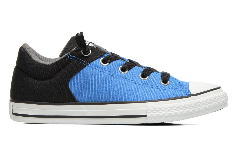 Sneakers Converse Chuck Taylor High Street Blå se bagfra
