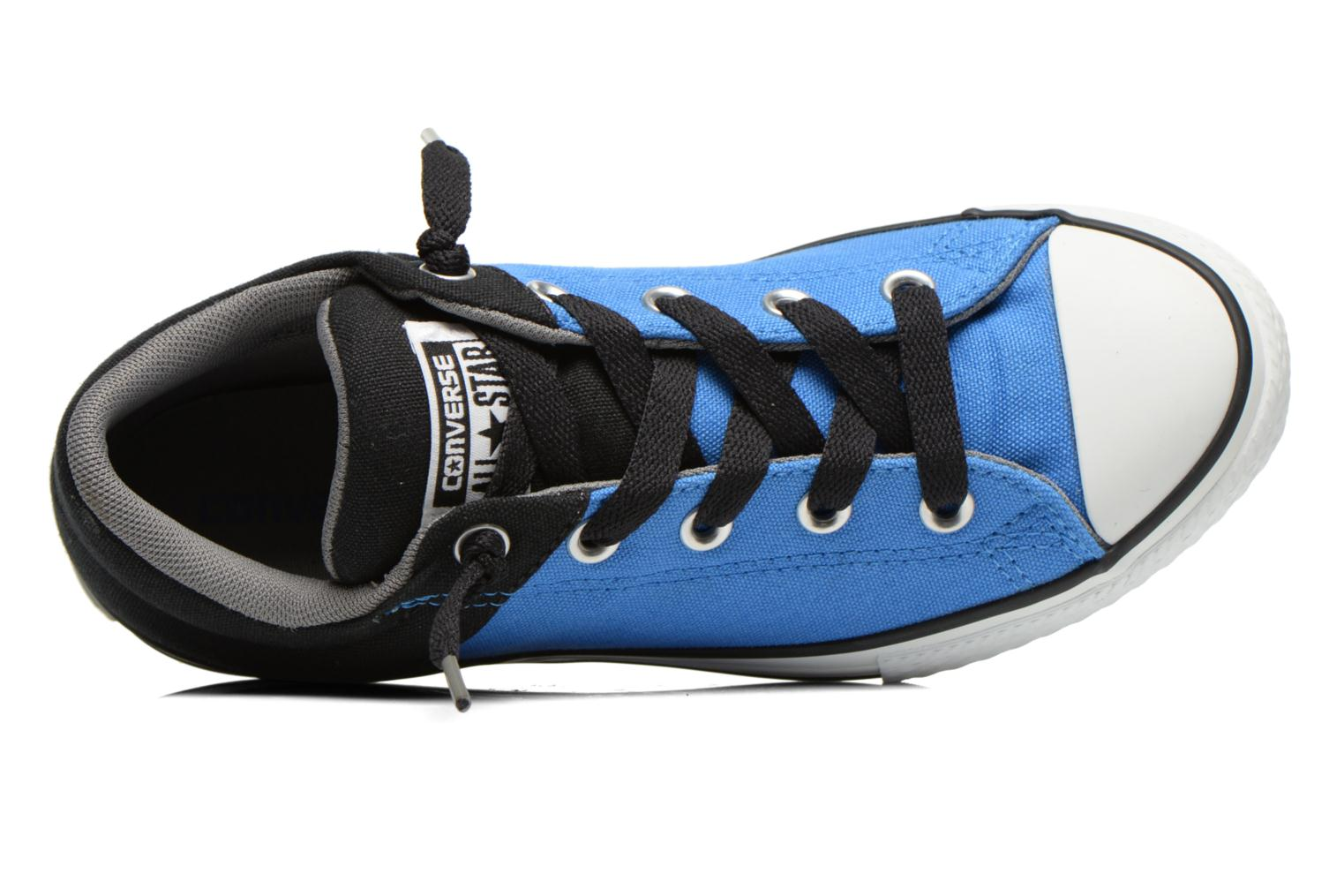 Trainers Converse Chuck Taylor High Street Blue view from the left