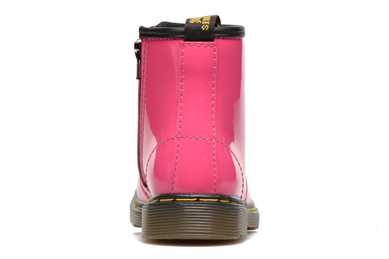 Stiefeletten & Boots Dr. Martens 1460 T rosa ansicht von rechts