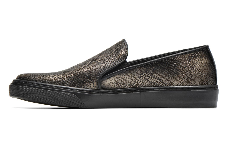 Sneaker Bronx Fiama schwarz ansicht von vorne