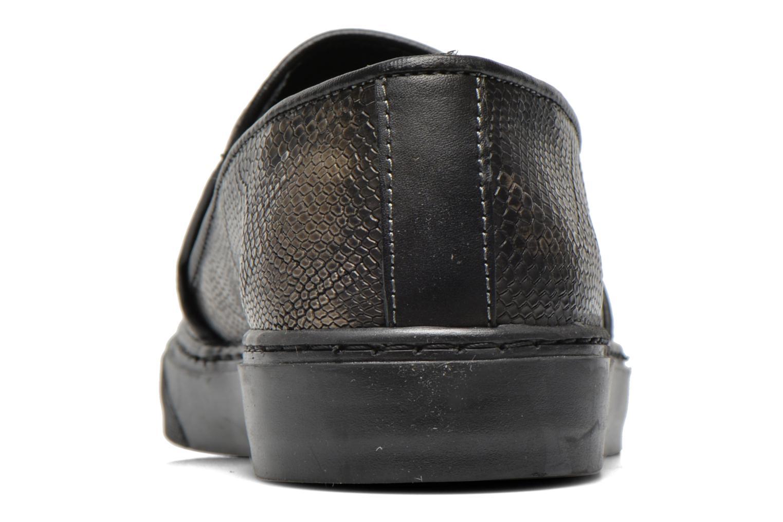 Sneaker Bronx Fiama schwarz ansicht von rechts