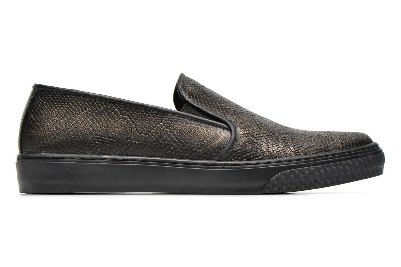 Sneaker Bronx Fiama schwarz ansicht von hinten