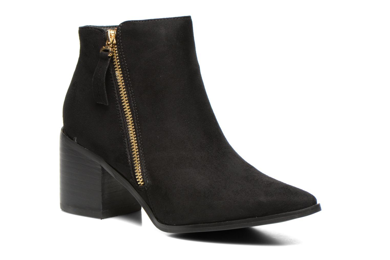 Boots en enkellaarsjes La Strada Nelly Zwart detail