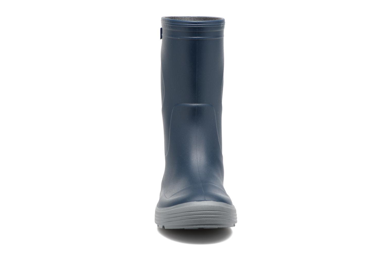 Bottes Méduse Airbus Bleu vue portées chaussures