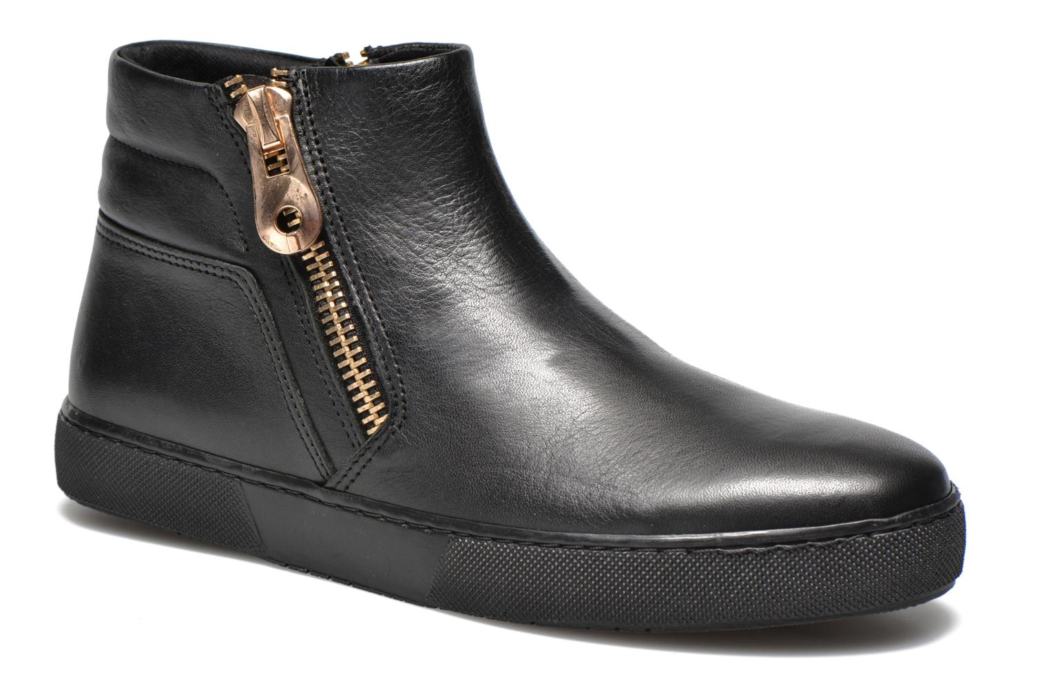 Ankle boots Shoe the bear Amy 6432 Black detailed view/ Pair view