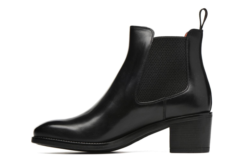 Bottines et boots Santoni Funny 52617 Noir vue face
