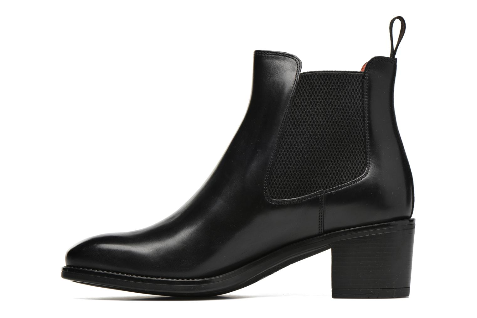 Ankle boots Santoni Funny 52617 Black front view
