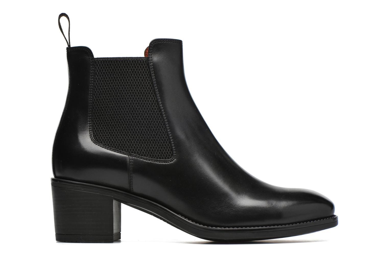 Boots en enkellaarsjes Santoni Funny 52617 Zwart achterkant