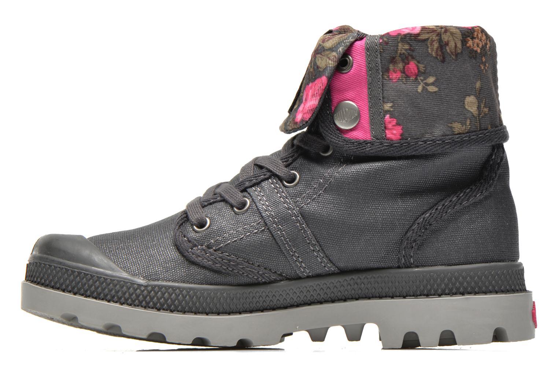 Boots en enkellaarsjes Palladium Baggy Wax K Grijs voorkant