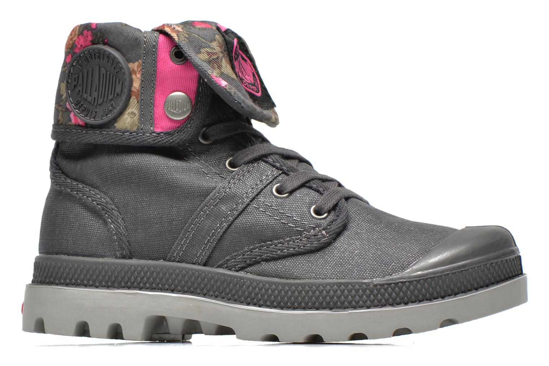 Boots en enkellaarsjes Palladium Baggy Wax K Grijs achterkant