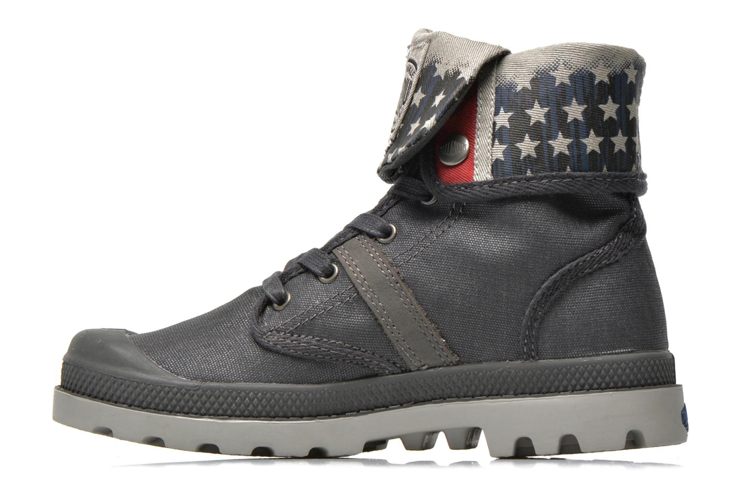 Ankle boots Palladium Baggy Wax K Grey front view