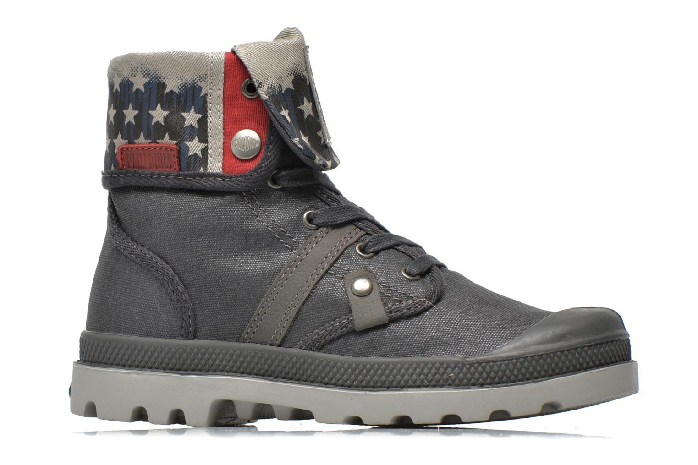 Bottines et boots Palladium Baggy Wax K Gris vue derrière