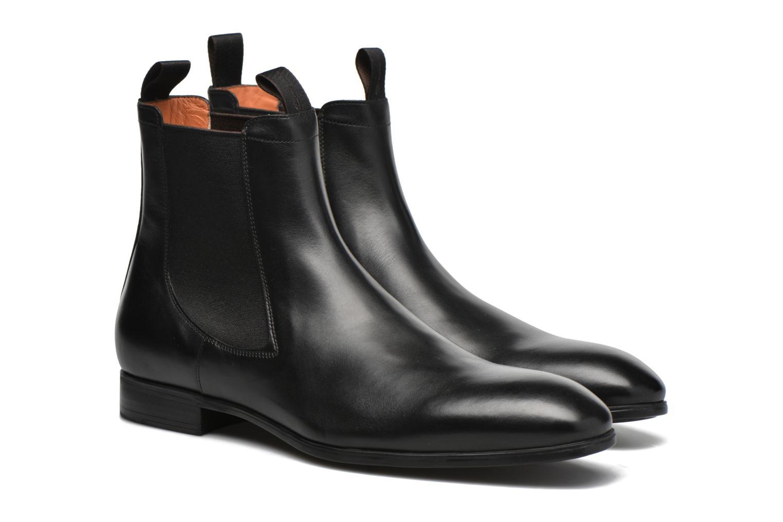 Boots en enkellaarsjes Santoni Simon 13414 Zwart 3/4'