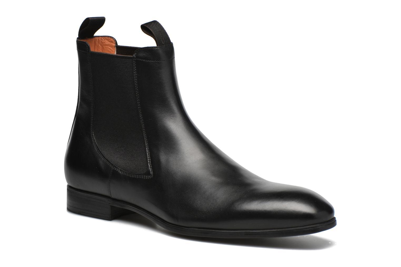Boots en enkellaarsjes Santoni Simon 13414 Zwart detail
