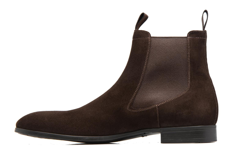 Stiefeletten & Boots Santoni Simon 13414 braun ansicht von vorne