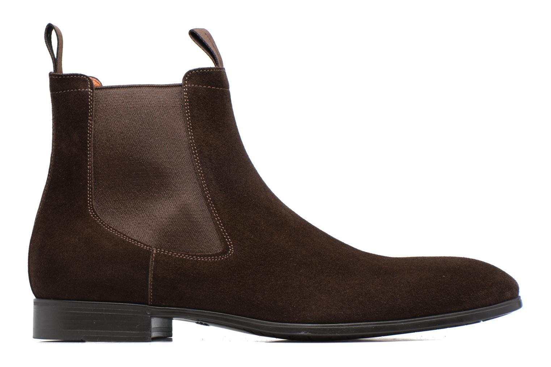 Stiefeletten & Boots Santoni Simon 13414 braun ansicht von hinten