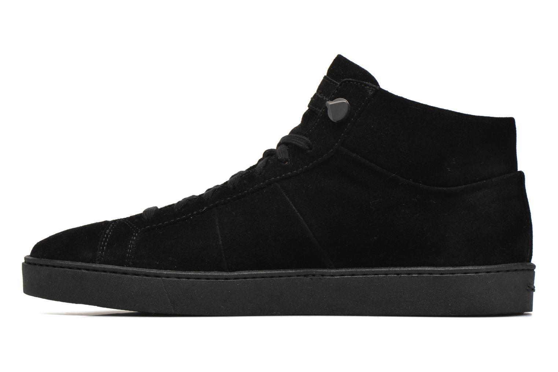 Baskets Santoni Gloria 14357 Noir vue face