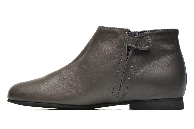 Boots en enkellaarsjes Manuela de Juan Ingrid Grijs voorkant