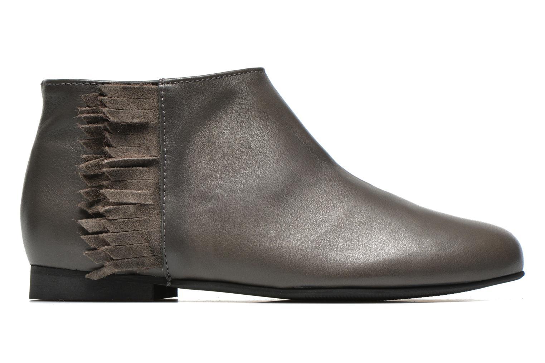 Boots en enkellaarsjes Manuela de Juan Ingrid Grijs achterkant