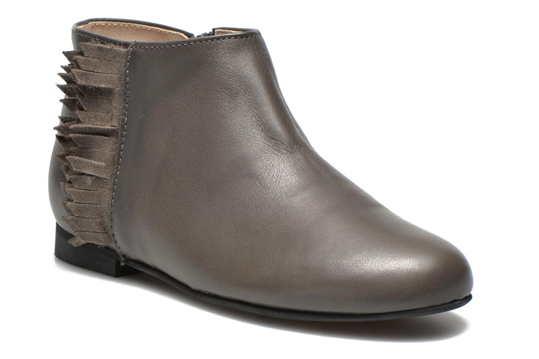 Boots en enkellaarsjes Manuela de Juan Ingrid Grijs detail
