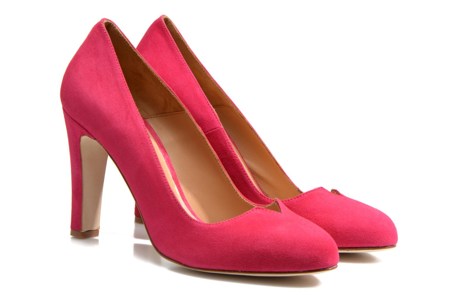 Pumps Made by SARENZA Western Fever #7 Roze achterkant