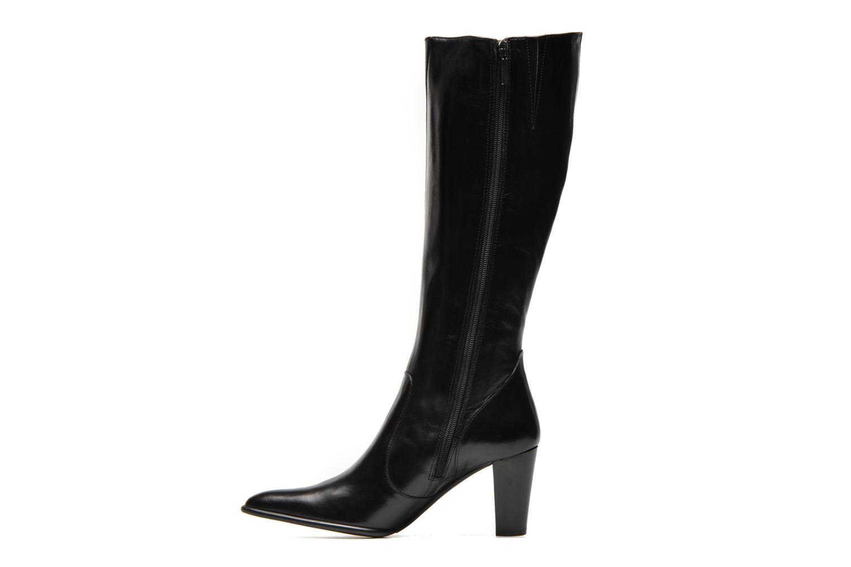 Stiefel Perlato Phefo schwarz ansicht von vorne