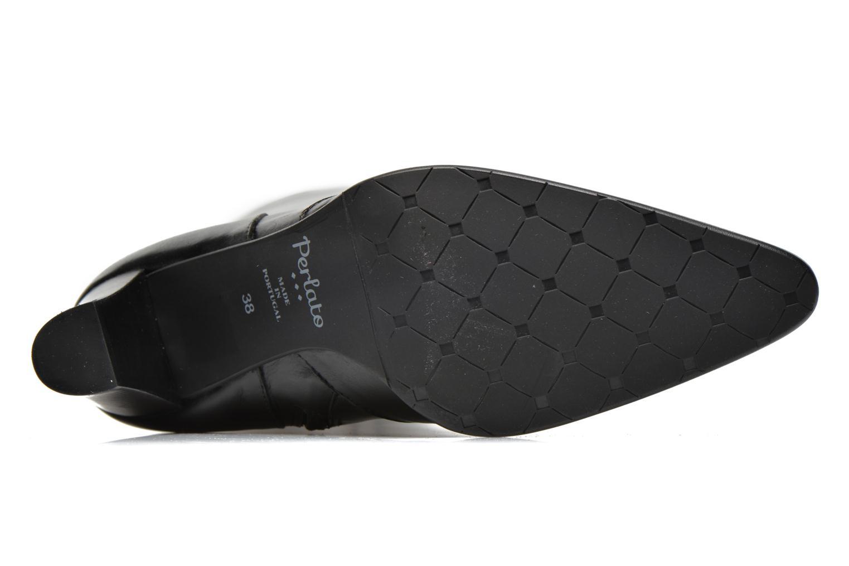 Stiefel Perlato Phefo schwarz ansicht von oben