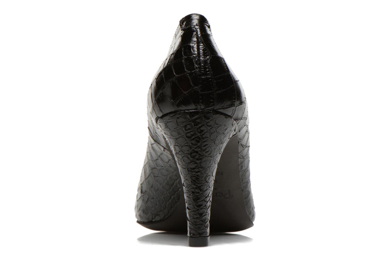 Escarpins Perlato Prunov Noir vue droite