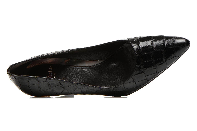 High heels Perlato Prunov Black view from the left