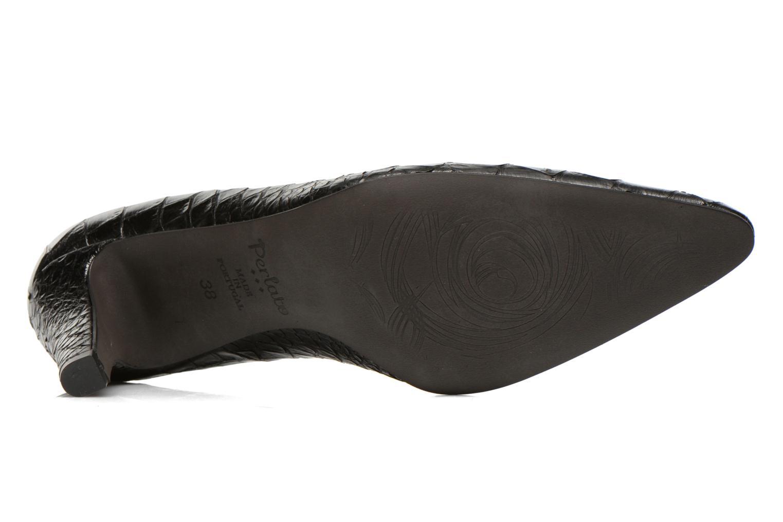 High heels Perlato Prunov Black view from above
