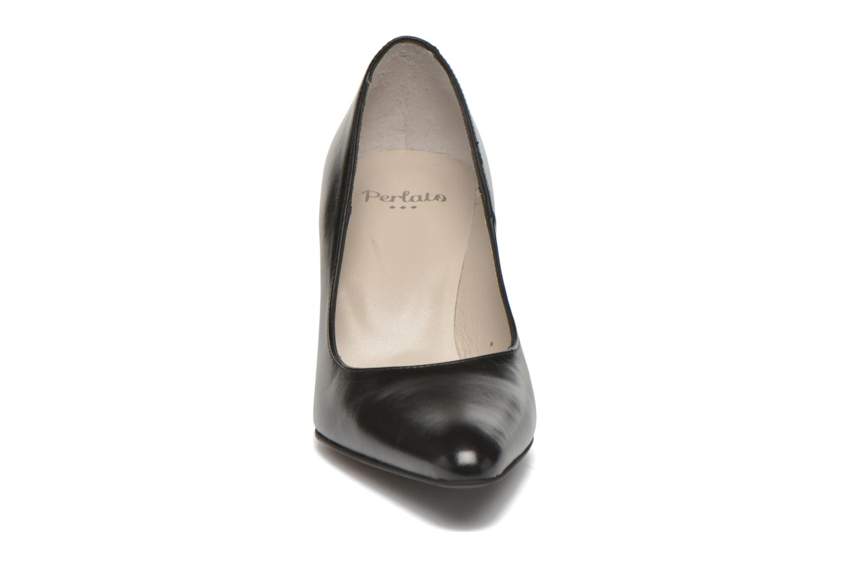 High heels Perlato Prunov Black model view