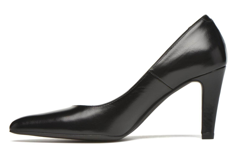 High heels Perlato Prunov Black front view