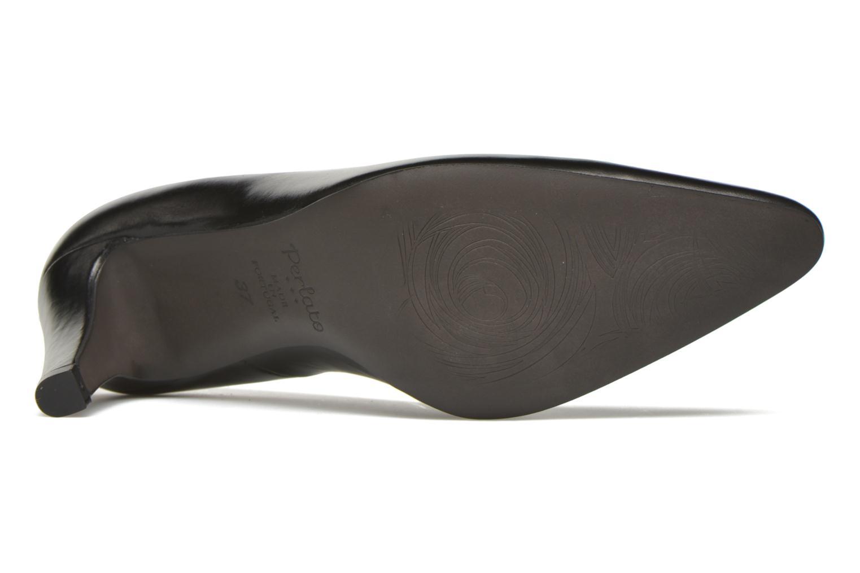 Escarpins Perlato Prunov Noir vue haut