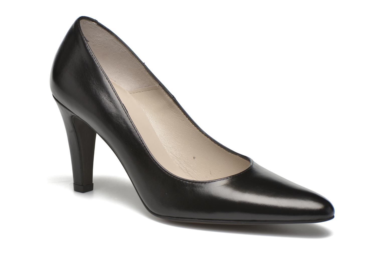 High heels Perlato Prunov Black detailed view/ Pair view