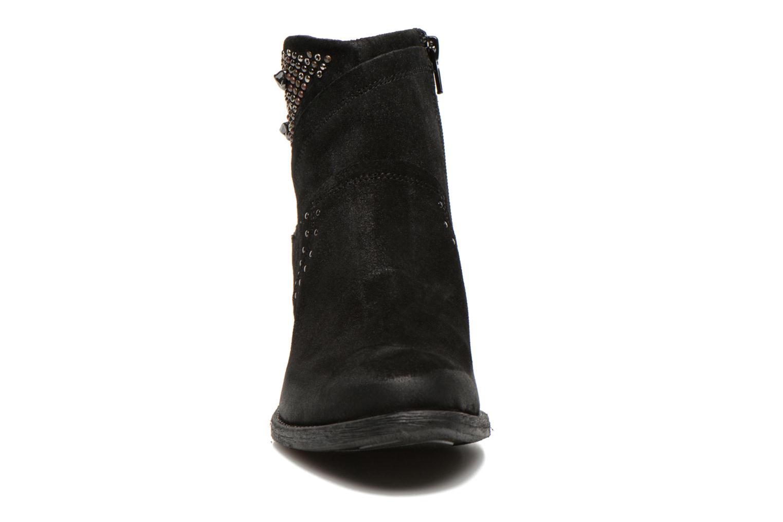Bottines et boots Khrio Matifen Noir vue portées chaussures