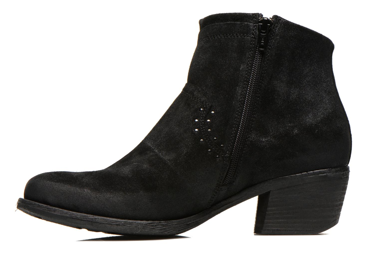 Bottines et boots Khrio Matifen Noir vue face