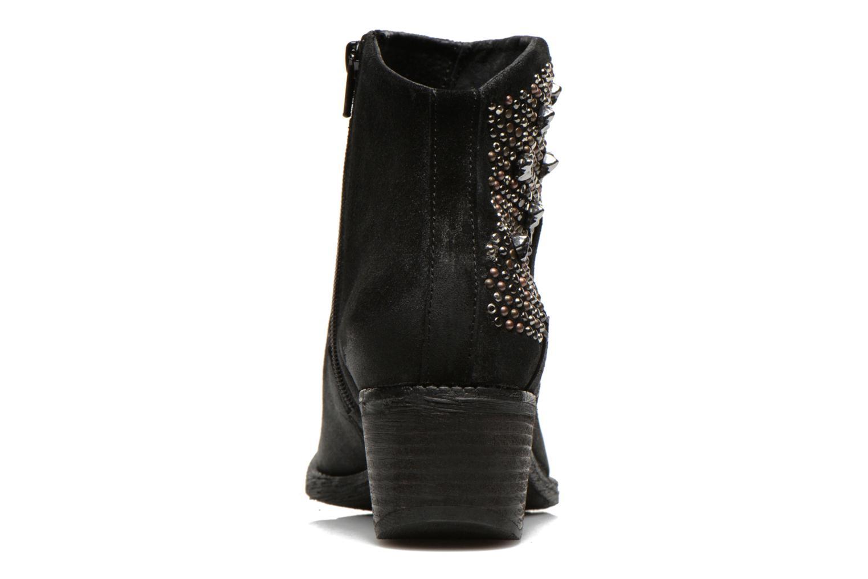 Bottines et boots Khrio Matifen Noir vue droite