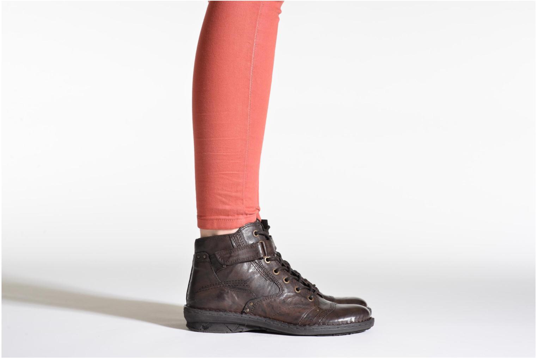 Bottines et boots Khrio Rehayen Marron vue bas / vue portée sac