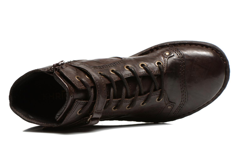 Bottines et boots Khrio Rehayen Marron vue gauche