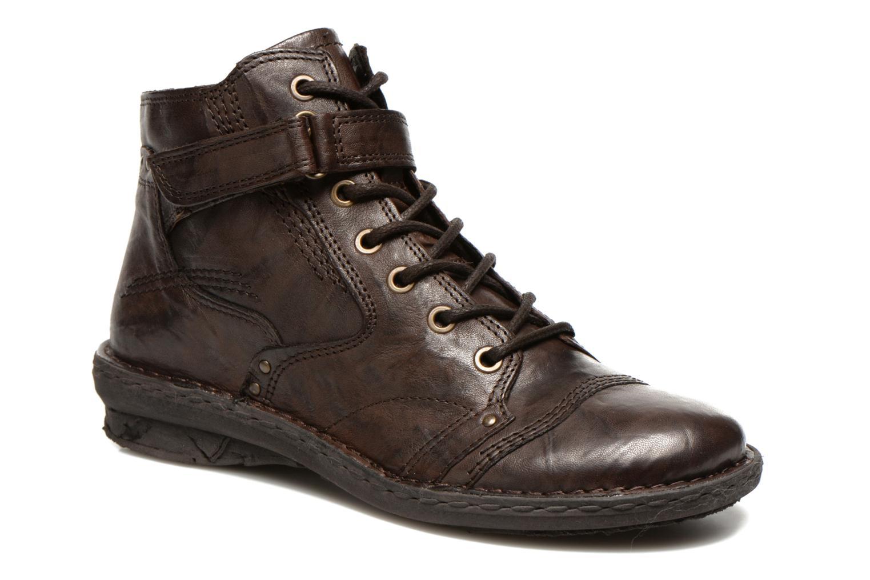 Boots en enkellaarsjes Khrio Rehayen Bruin detail