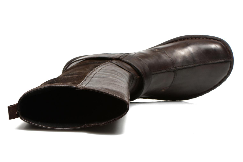 Stiefel Khrio Reandria braun ansicht von links